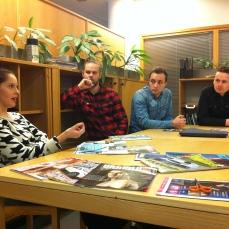 Toimituspäällikö Jenni Kleemola kertoo lehden konseptista